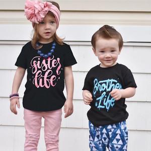 Toddler Kid Baby Boys Cartoon Short Sleeve Letter Print Soft T Shirt For Boys Children Summer T-shirt Cotton Tops Clothing