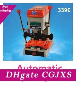 Dhl Бесплатная доставка 110В / 60Гц или 220В / 50Гц 339c Автоматическая ключа автомобиля резки слесарные Оборудование Key Copy машина с полным набором инструментов