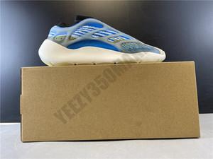 2020 700 V3 Azul blanco luminoso Kanye West Runner Hombres zapatilla de deporte kanyewest 700V3 calzado deportivo hombres de los zapatos corrientes hombre luz Formadores G54850