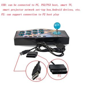 USB Rocker Game Controller Arcade Joystick Gamepad Fighting Stick geeignet forAndroid PS2 PS3 PC (USB) Smart TV