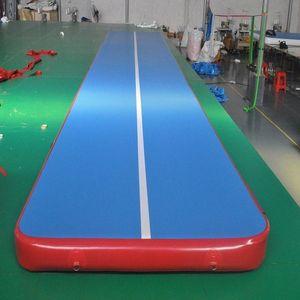 inflatable gym mat many size physical exercise Air Tumble Track yoga mat Gymnastics training use for Olympic Games and Taekwondo or yo zajy#