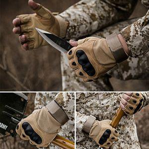 HQ Tactical Soft Shell Schutz Mikrofaser halbe Finger-Handschuhe Männer Frühling und Herbst im Freien überleben Radfahren zu Fuß Sicherheit Handschuhe FREE
