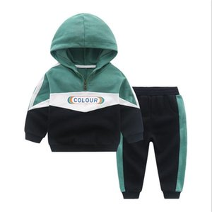VansLogo Luxury Designer Toddler Baby Boy Cartoon Hoodies and Pants Outfits Sets Clothes Toddler Autumn Clothes Kids Tracksuit