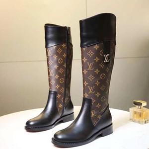 Talones de la plataforma del invierno de las mujeres zapatos de los cargadores de la rodilla Botas de moda Ronda del dedo del pie zapatos de cuñas de calzado femenino estiramiento de la plataforma de arranque de la Mujer Chaussures