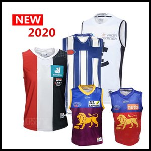 Las ventas calientes 2020 2021 nueva camiseta de Liga AFL singlete Carlton Blues Adelaide Crows Collingwood Richmond Tigers Hawthorn Hawks jerseys S-3XL