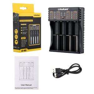LiitoKala Lü-402 18650 Ladegerät für 26650 16340 RCR123 14500 LiFePO4 1.2V Ni-MH Ni-Cd-Batterie Rechareable