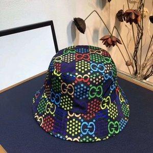 Pescatore cappello stampa selvaggia casuale ins netta cappello bacino rossi ladies fashion protezione solare cappello da sole logo