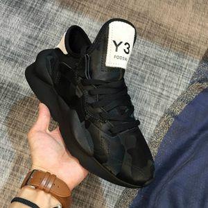 Para hombre de las zapatillas de deporte Y3 IIvenom Diseñador Kusari Negro alta calidad blanca Ins mujeres de la manera zapatos de señora de moda Y3 cargadores ocasionales con la caja