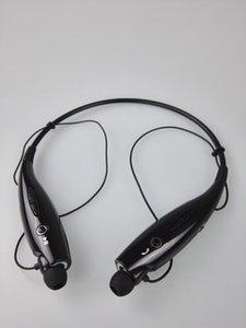 100pcs Hbs730 Bluetooth Headset sem fio fone de ouvido Csr4 0,0 Sports Neckband Handsfree Headphone para Smartphone / Lot