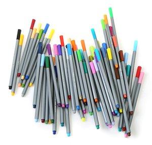 Neuer Entwurfs 0.4mm Fine Liner Gel Pens Skizze Farbzeichnung Pen Art Marker für Zeichnung Manga Design Kunst Set Zubehör