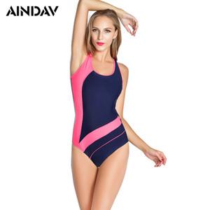 Le nuove donne Atleta professionista triangolare Costume intero Swimwear Un pezzo costume da bagno brasiliano costume da bagno S alla taglia XXL
