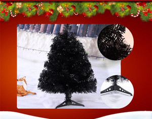 60cm Black Christmas Trees Artificial Trees for Xmas Docoration New Year Gift Party Sup