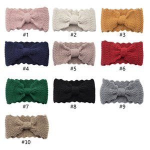 INS wave women fashion headbands knitting wool girls headbands kids headband hair accessories for women headbands girls head bands B2300