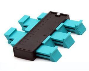 Plastic Gauge Contour Profile Copy Gauge Duplicator Standard 5 Width Wood Marking Tool Tiling Laminate Tiles General Tools