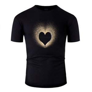 Customize Design T Shirt Man Cotton Leisure Men And Women Feb 4 Valentine's Day T-Shirts Clothing Hiphop Top