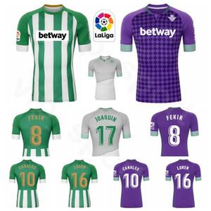 20 21 Real Betis Foot 17 JOAQUIN Jersey 10 Canales 15 MORENO 18 GUARDADO 11 TELLO 7 juanmi 6 GARCIA football Kits chemise