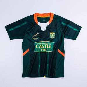 Top 2020 Sud Africa Rugby RWC 2021 Champion Home Jersey Dimensione S-5XL Top Quality Spedizione gratuita