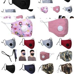 Bocca Face Face Mask Designer Maschera Er PM2.5 antipolvere Anti-l lavabile riutilizzabile ghiaccio seta Co Hd6w 714r