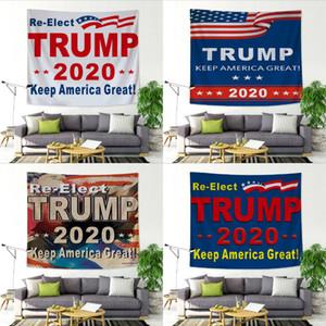 tapisserie décoration intérieure 150 * 200cm atout mur fond 2020 mur tapisserie ménage impression électorale américaine T50061