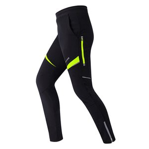 WOSAWE Men Thermal Bicycle Bike Racing Cycling Pants Windproof Pants Winter Wind Tights Cycling Clothes