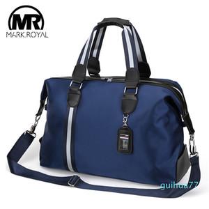 Дизайнер-MARKROYAL большой емкости сумки Путешествия для мужчин Женщины Водонепроницаемая ткань Оксфорд сумка плеча хранения багажа Сумки вещевой
