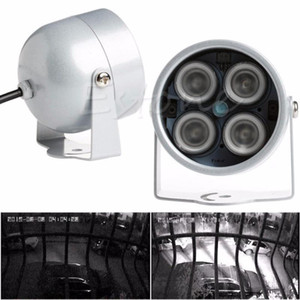 Hot 4 LED Infrared Night IR Vision Light illuminator Lamp For IP CCTV CCD Camera New