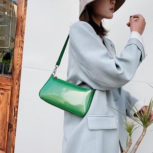 2020 fashion luxury Women PU Leather Handbags Solid Color Female Elegant Shoulder Trunk Totes Bags Female Classic Elegant Shoulder Handbag