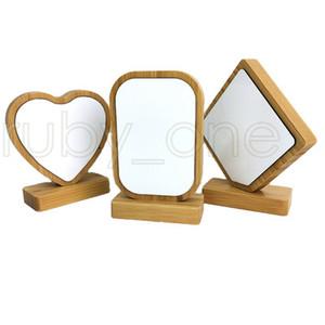 Термотрансферная Bamboo Photo Frames Bamboo Crafts Сублимация Blank Picture Rahmen для рождественских подарков украшения рабочего сада RRA3501