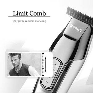 Clipper Led Display-Trimmer Bart Haircut Haar Machine Men Drop Haar Elektrofach Kemei Drahtlose Cutting Für YydnF