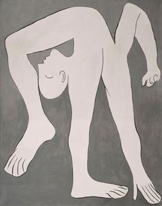 Pablo Picasso Art The Acrobat Wohnkultur Handwerk / HD Drucken Ölgemälde auf Leinwand Wandkunst Leinwandbilder 7091