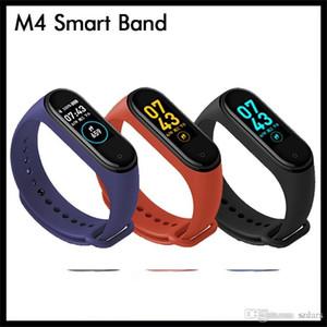 Braccialetto da polsino M4 Smart Band Fitness Tracker Sport Braccialetto PASSETTORE PASSETRO FREQUE CUORE Pressione sanguigna Monitor impermeabile Monitor cardiaco Frequenza cardiaca MI 4 Band
