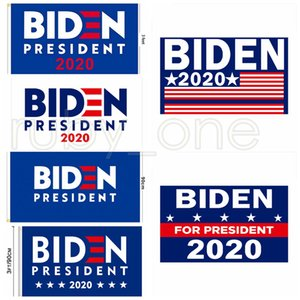 Joe Biden 2020 Flag Brief Unterstützung Oppose Joe Biden Präsident USA 90 * 150cm Banner Flaggen Big Hanging Trump RRA3485