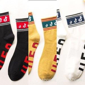 MFxzc Otoño Invierno Medio y notas de algodón de los hombres de verano en otoño, invierno, sp algodón puro deportes de primavera Street School calcetines gIKlS moda ca