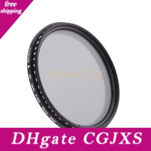 58mm ND 필터 중립 밀도 ND2 ND4 ND8 Nd400 렌즈 변수의 Nd 페이더를 들어 캐논 니콘 DSLR 카메라 필터