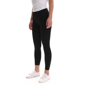 Yeni Yoga kadın naylon çift taraflı cebini kırpılmış spor kalça kaldırma pantolon çalışan Breech makat yüksek bel zayıflama pantolon