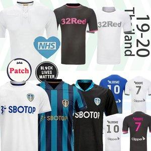Лидс Юнайтед футбол Джерси сотой годовщины COSTA Празднует Столетие Бэмфорд CLARKE 100 лет Мужчины Дети футбол рубашка 2019 2020 2021