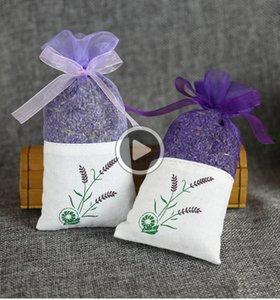 Lila Baumwolle Organza Lavendel SACET ag DIY Getrocknete Blumen Süße ursa Wardroe Mouldproof Geschenk ag wen5035 Mike