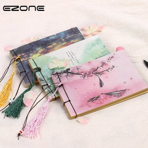 EZONE1PC Chinese Vintage Style NoteBook Sketchbook Stationery Blank Inner Pages Notebook Students School Office Supply
