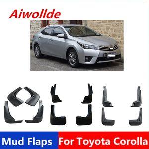 Car MudFlaps For Toyota Corolla Altis 2002-2018 Mudflaps Splash Guards Mud Flap Mudguards Fender