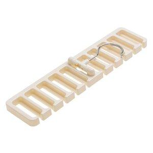 Стеллаж Вешалка Belt Отделочные шарфов Вешалки Multi Frame Functional Beige висячие Tie хранения sqcCMb trustbde