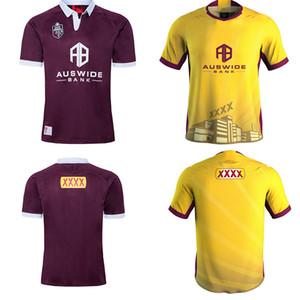 ventas calientes Australia 2020 MAROONS Rugby Jersey Queensland QLD cimarrones de rugby camisa jerseys Liga Holden stateof ORIGEN s-5XL