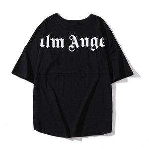 2020 homens PALM mulheres curta camisa de manga t ANJOS PA palma dos homens Camisas Casual anjo letra impressa de manga curta T-shirt T s-xl d4W6 #