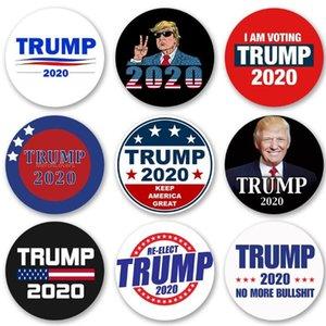 Trump Symbole Badge élection américaine Badge Trump Supporters Badges Broche Manteau Vestes Sac à dos épinglettes OOA8409