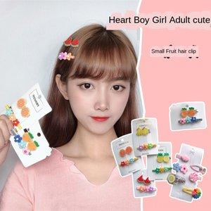 GV8tZ Moda frutta fiore tornante Frutta copricapo headdress accessori per capelli dolce cute girl bambini clip laterale adulto della clip