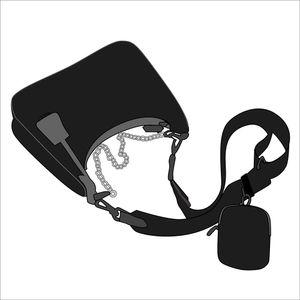 neue Schulterbeutel Handtaschen Hochwertiger Umhängetasche Heart-shaped Dekoration Persenning Nylonbeutel Großhandel Einkaufstasche