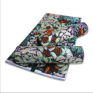 Vente de matériel de cire d'or africain Tissu coton nigérien chaud Imprimer stuff rappeur Ankara Wax Pour 6yards coudre robe en tissu