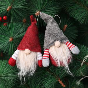 Scandinave Gnome suédoise main de Noël Tomte Père Noël Nisse nordique en peluche Elf Toy Table Ornement Arbre de Noël Décorations JK1910