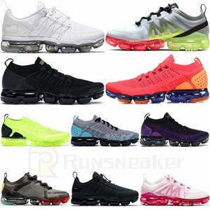 2020 Vapourmax 플러스 2.0 플라이 3.0 니트 실행 신발 sAir 배 블랙 골프 화이트 체육관 레드 Tpopical Catus 남성 운동화 여성 운동화 트위스트