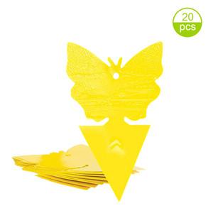 Çift Yaprak bitleri Toksit Yapışkan Tuzakların için Sarı Bahçe Güçlü Tutkal Meyve Fly Taraflı