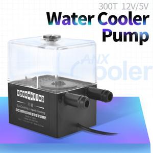 Syscooling SC-300T su soğutma pompası 12V fırçasız bir sıvı soğutma pompası 300L / H 4W küçük 3P